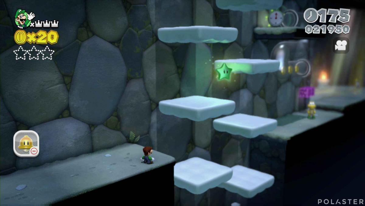 Super Mario 3D World Mundo 1-2 Estrella 1
