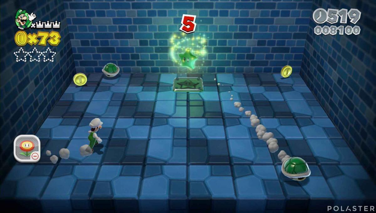 Super Mario 3D World Mundo 1-2 Estrella 2