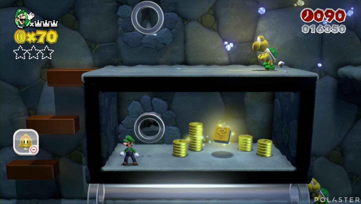 Super Mario 3D World Mundo 1-2 Sello
