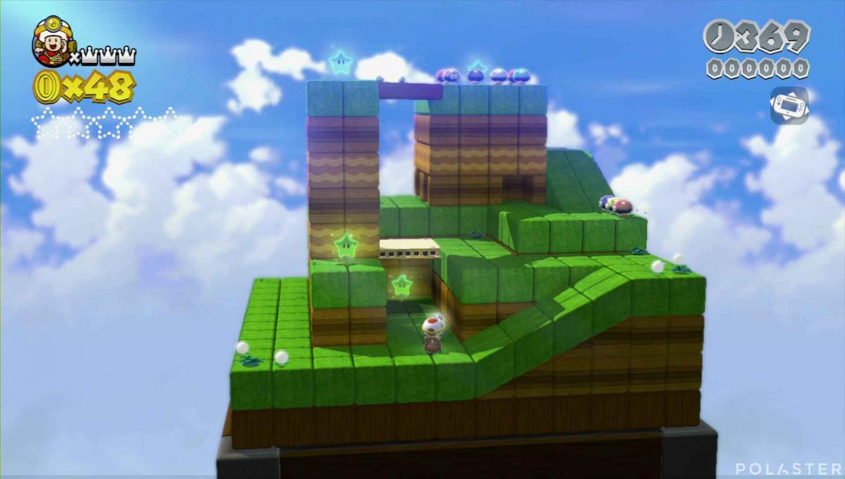 Super Mario 3D World Mundo 1-Toad Estrella 1