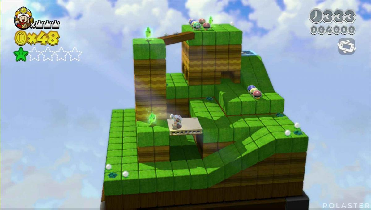 Super Mario 3D World Mundo 1-Toad Estrella 2