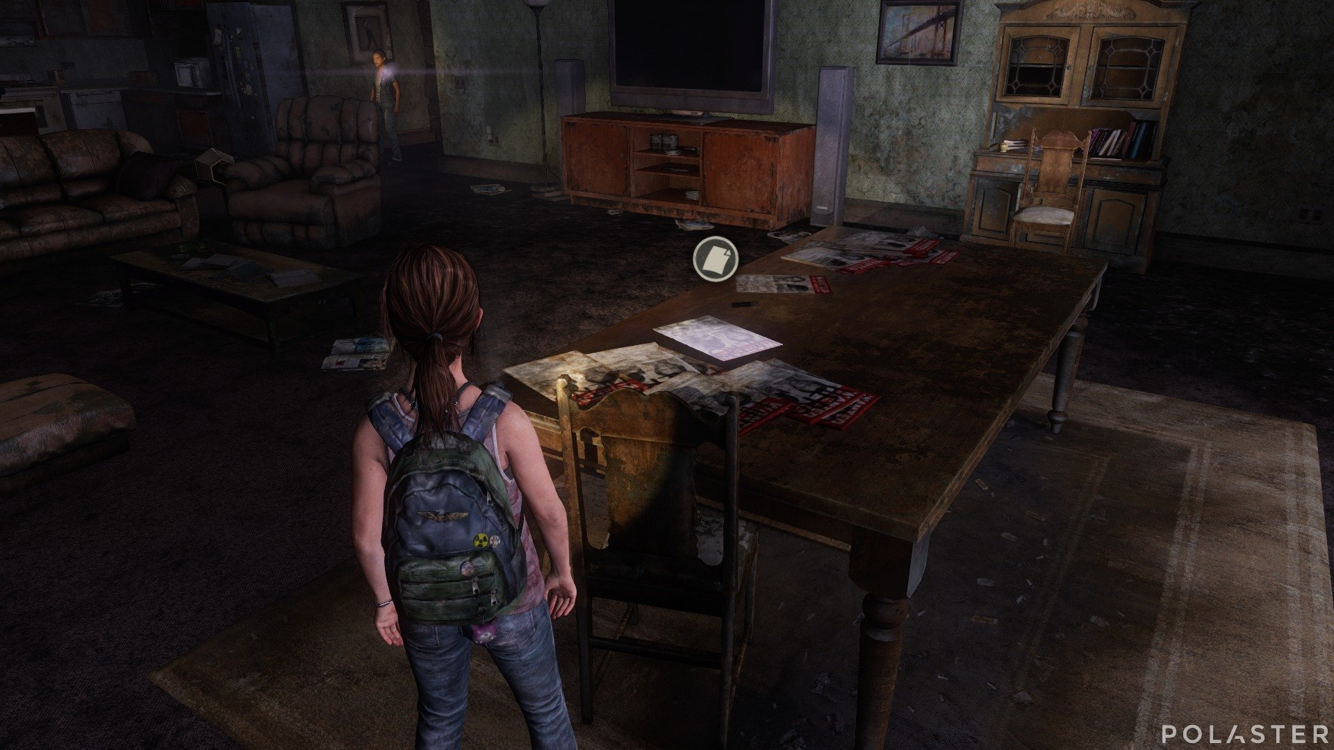 The Last of Us DLC Left Behind Artefacto Cartel de Se busca