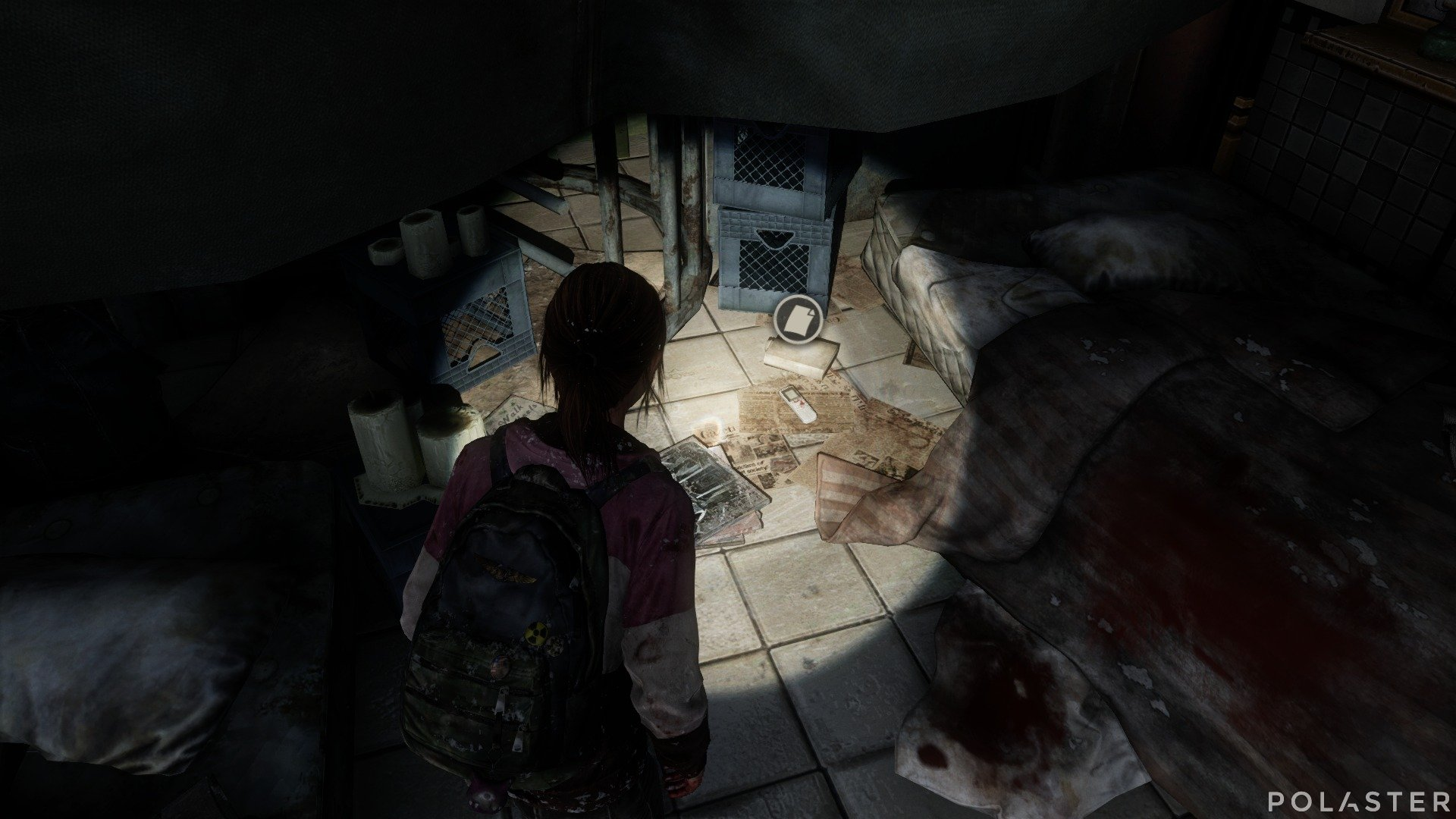 The Last of Us DLC Left Behind Artefacto Grabadora del atrio