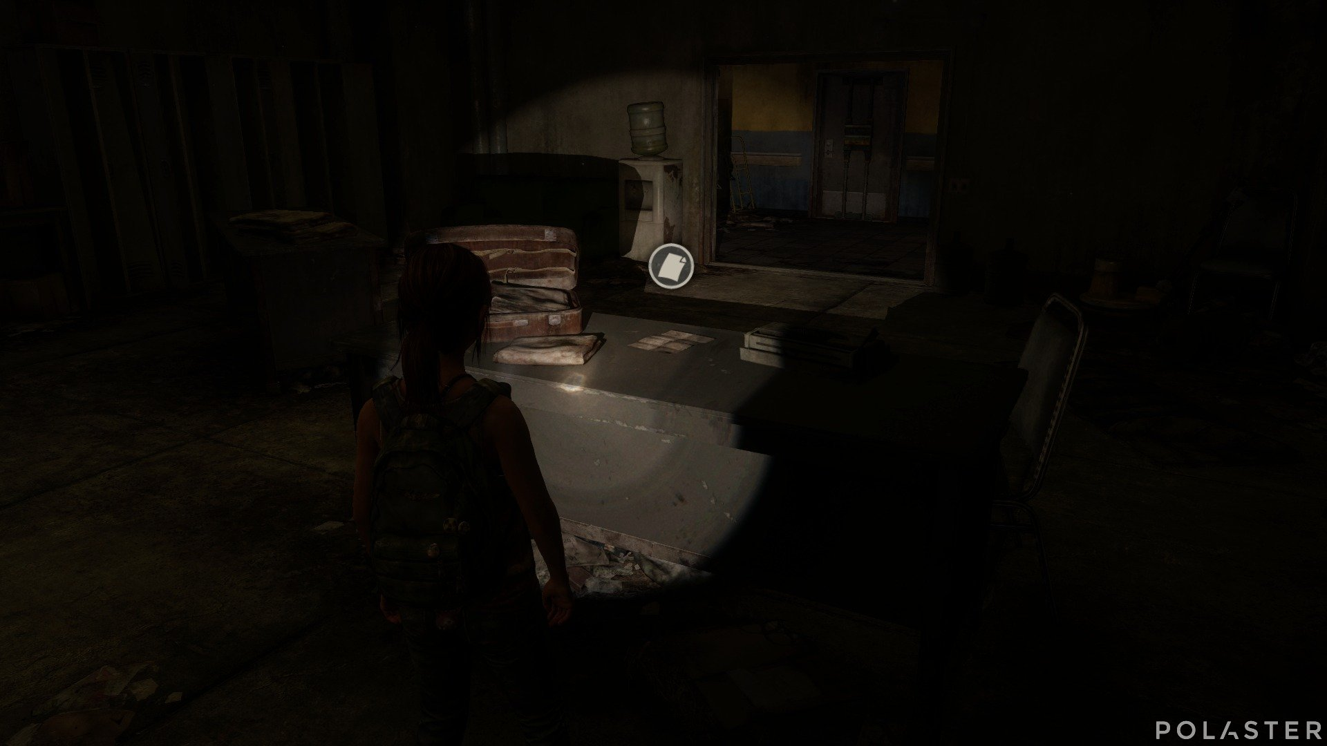 The Last of Us DLC Left Behind Artefacto Nota de advertencia