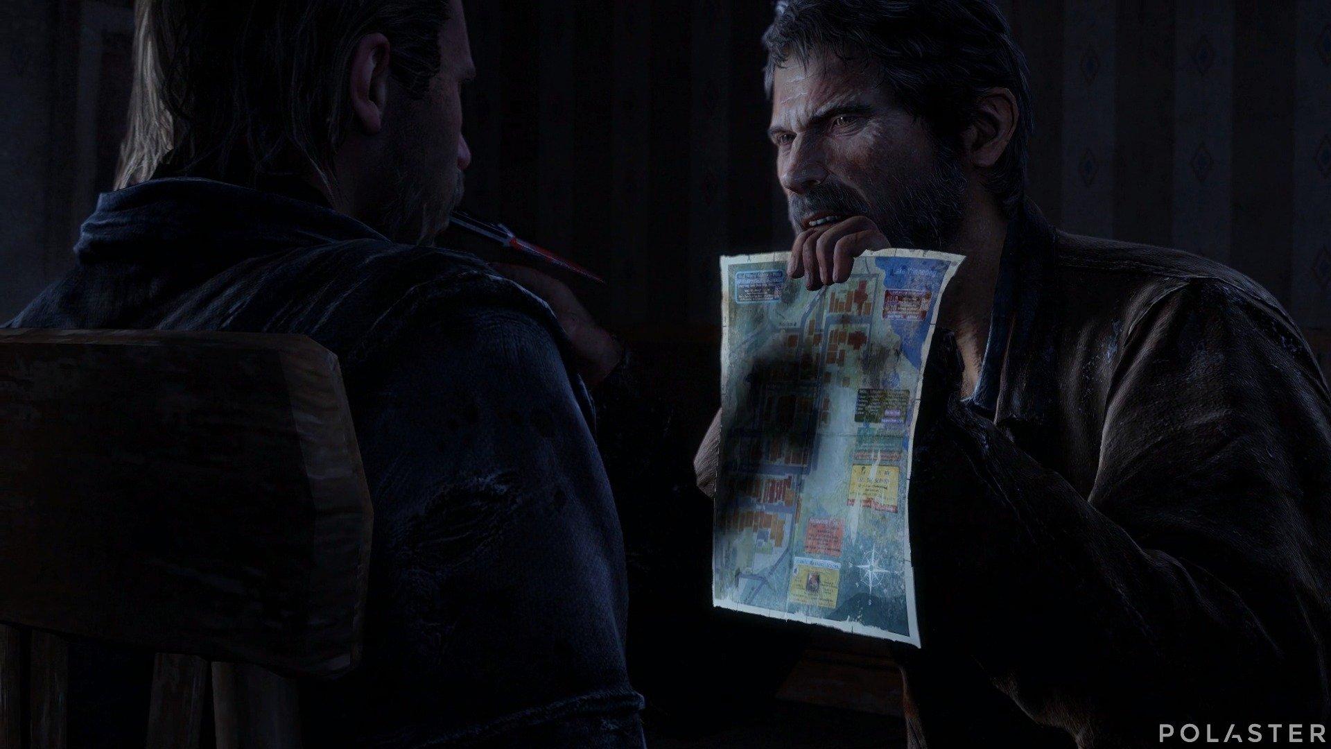 The Last of Us Artefacto Mapa del complejo del lago