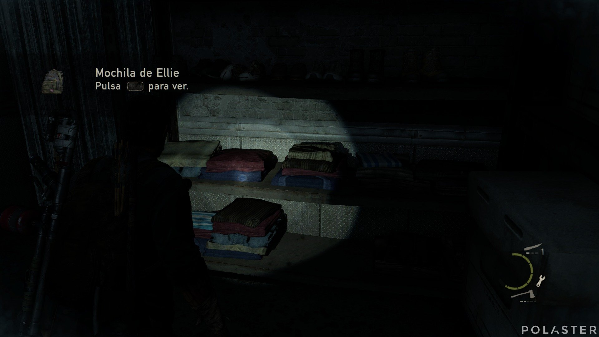 The Last of Us Artefacto Mochila de Ellie
