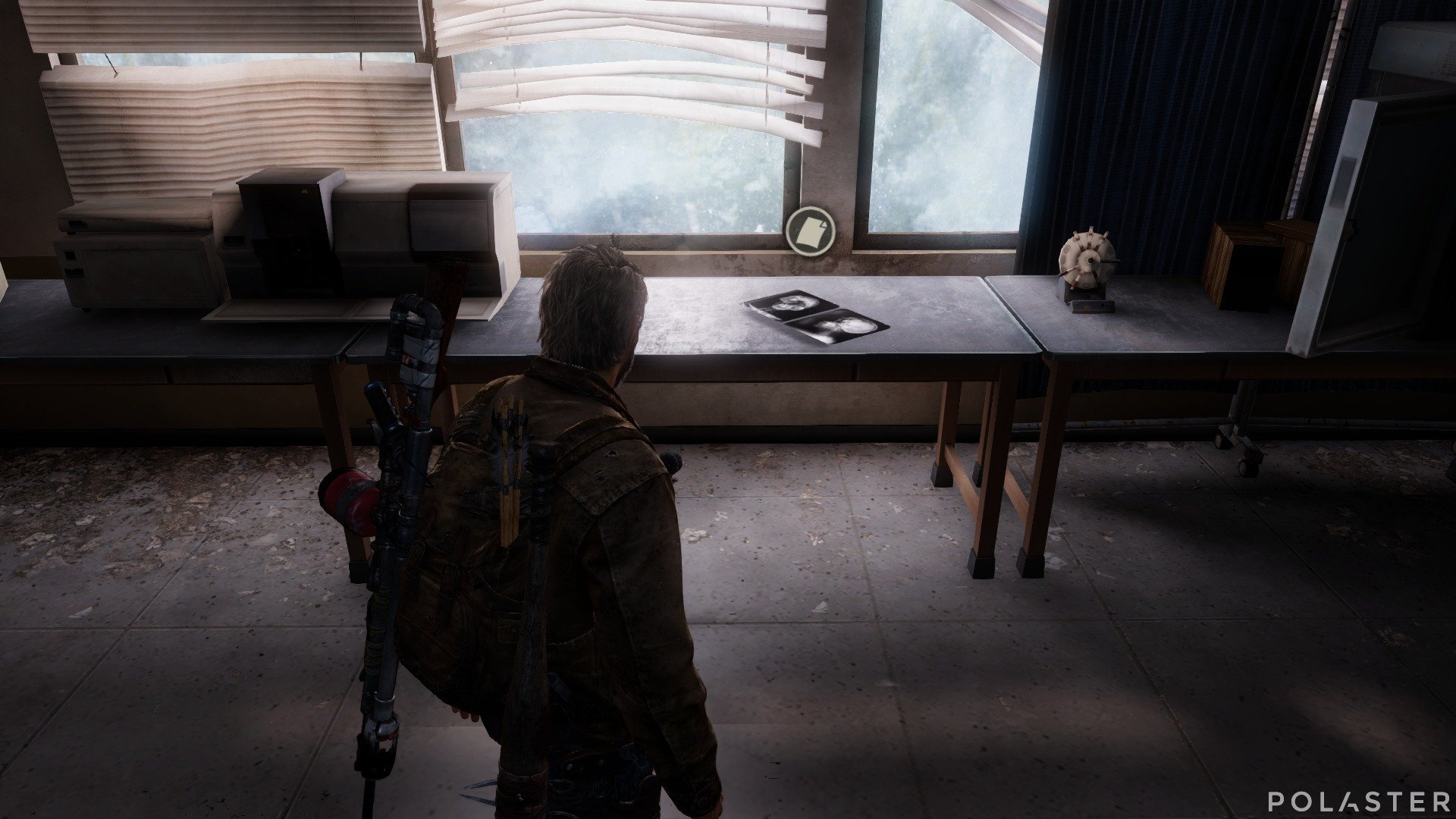 The Last of Us Artefacto Rayos X de hongos
