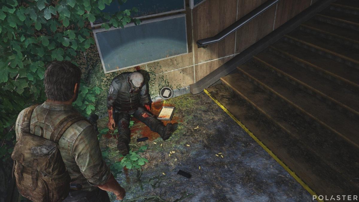 The Last of Us Artefacto Diario de operaciones de campo