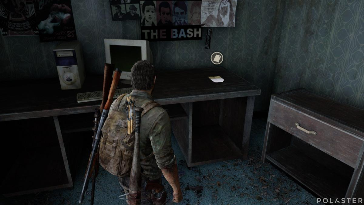 The Last of Us Artefacto Nota de supervivientes