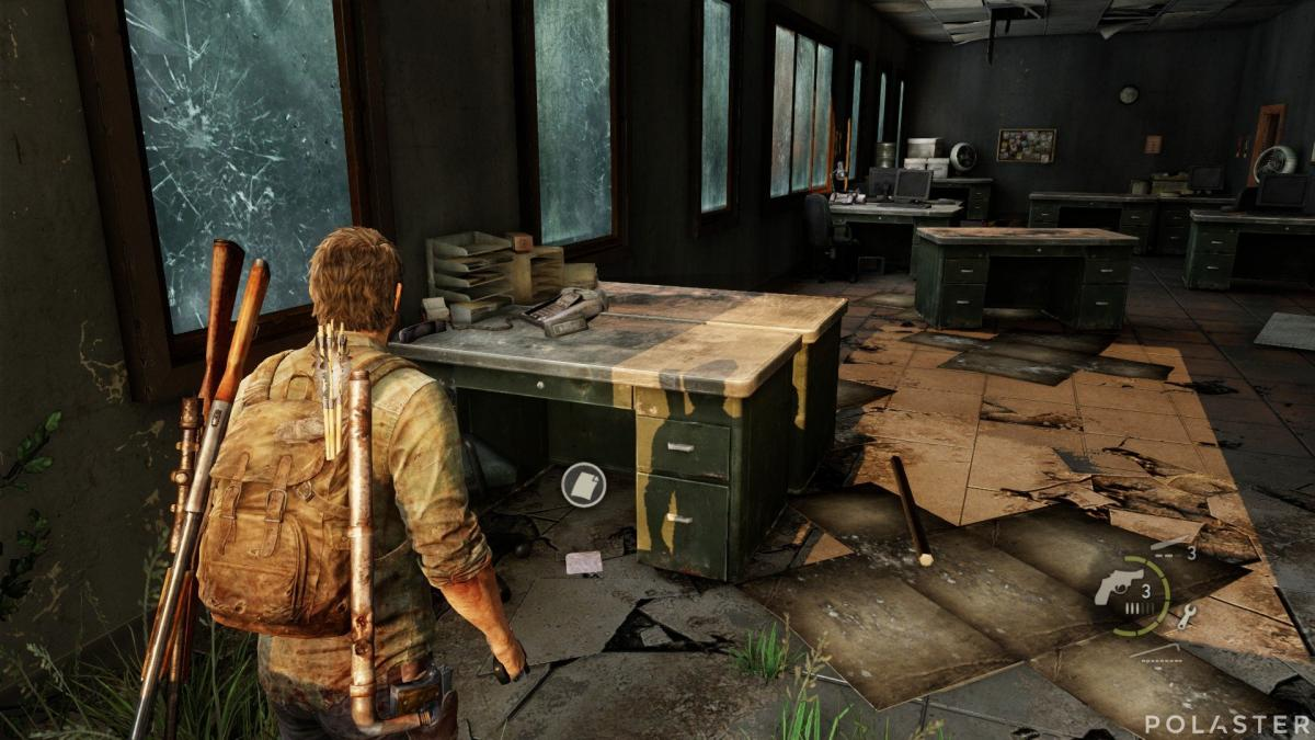The Last of Us Artefacto Nota del ataque final