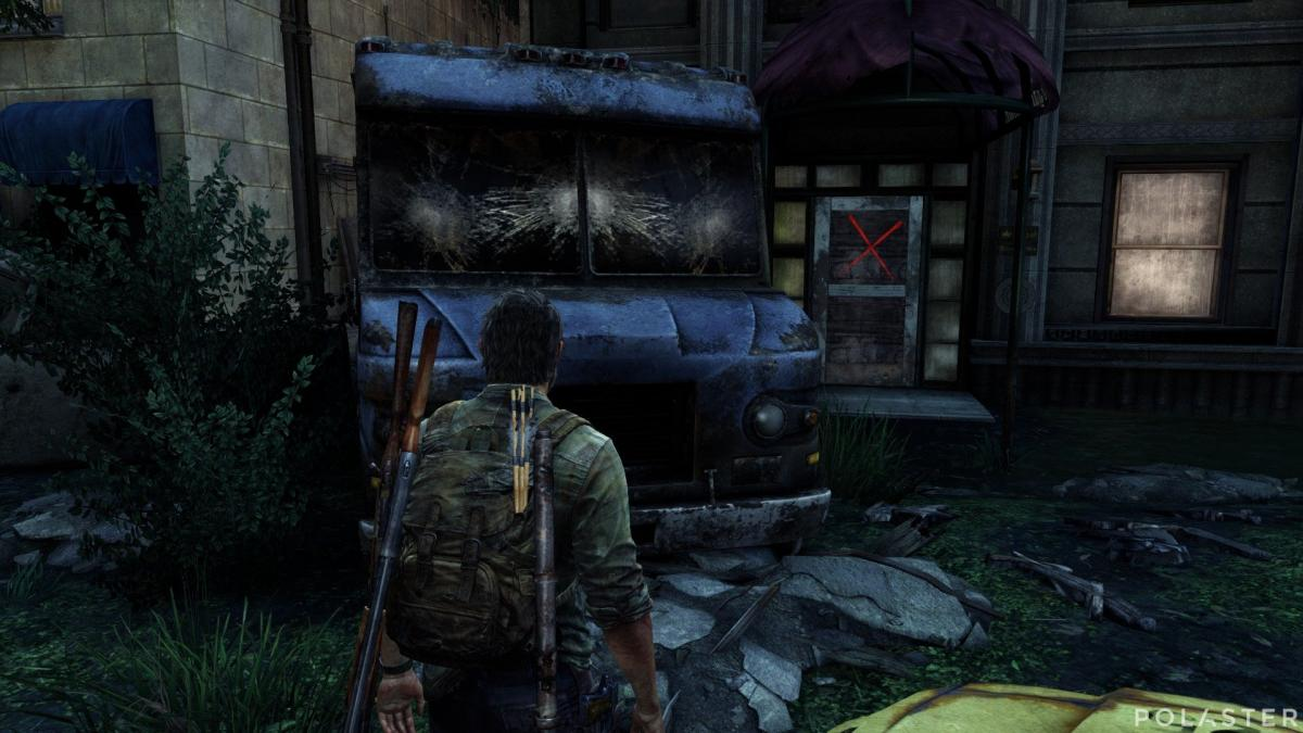 The Last of Us Puerta con daga