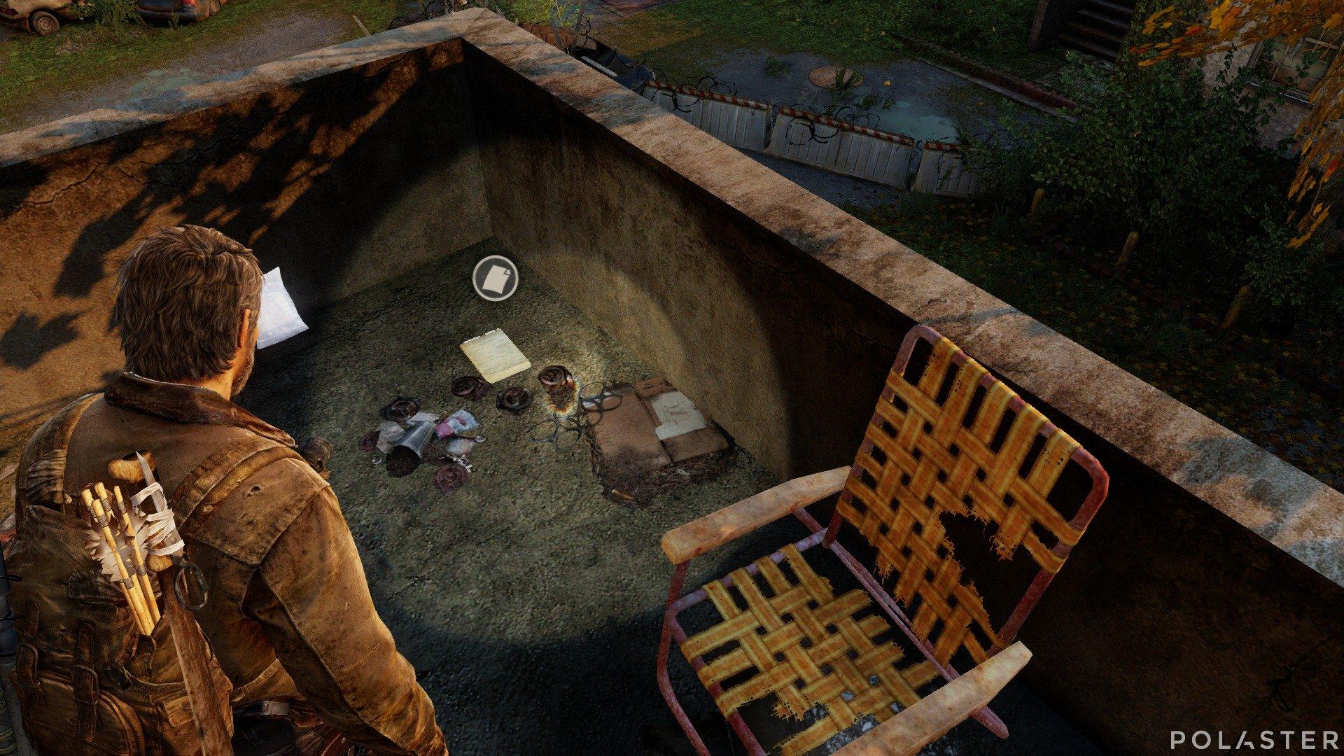 The Last of Us Artefacto Diario del nido de francotiradores