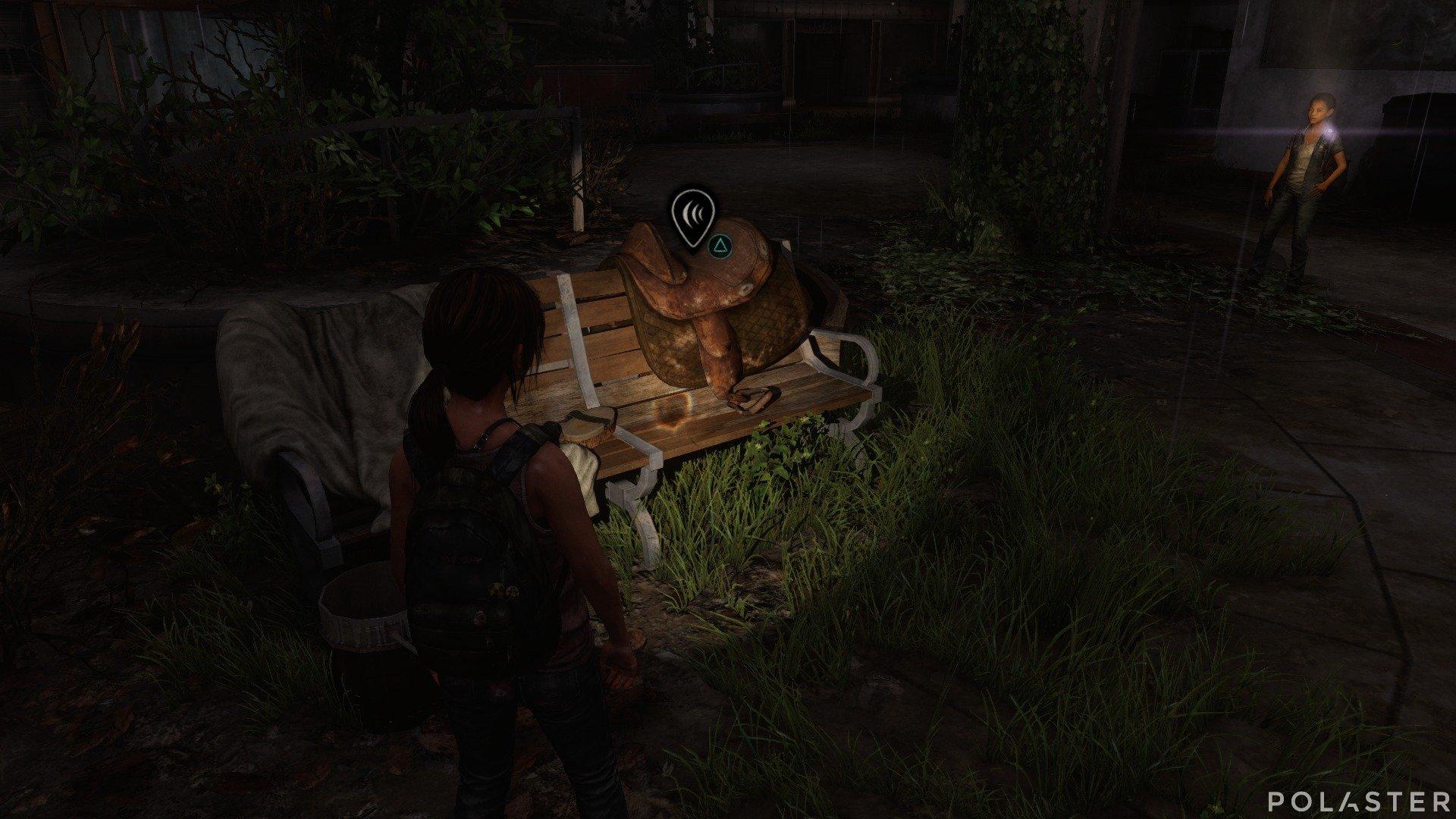 The Last of Us DLC Left Behind Conversación opcional