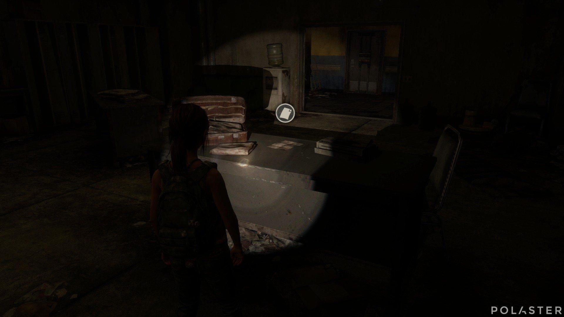 The Last of Us DLC Left Behind Artefacto Nota de advertencia
