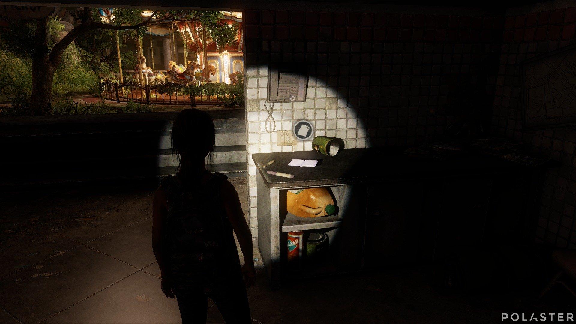 The Last of Us DLC Left Behind Artefacto Nota de cocina