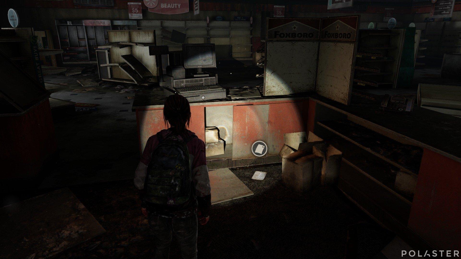 The Last of Us DLC Left Behind Artefacto Nota de combinación
