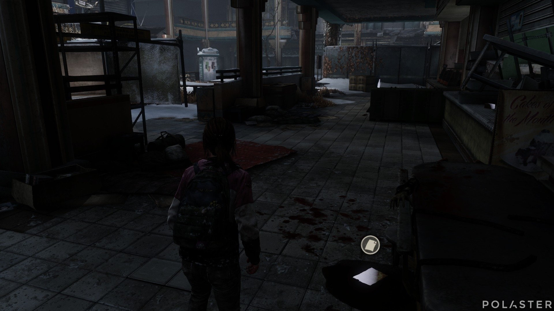 The Last of Us DLC Left Behind Artefacto Nota del atrio