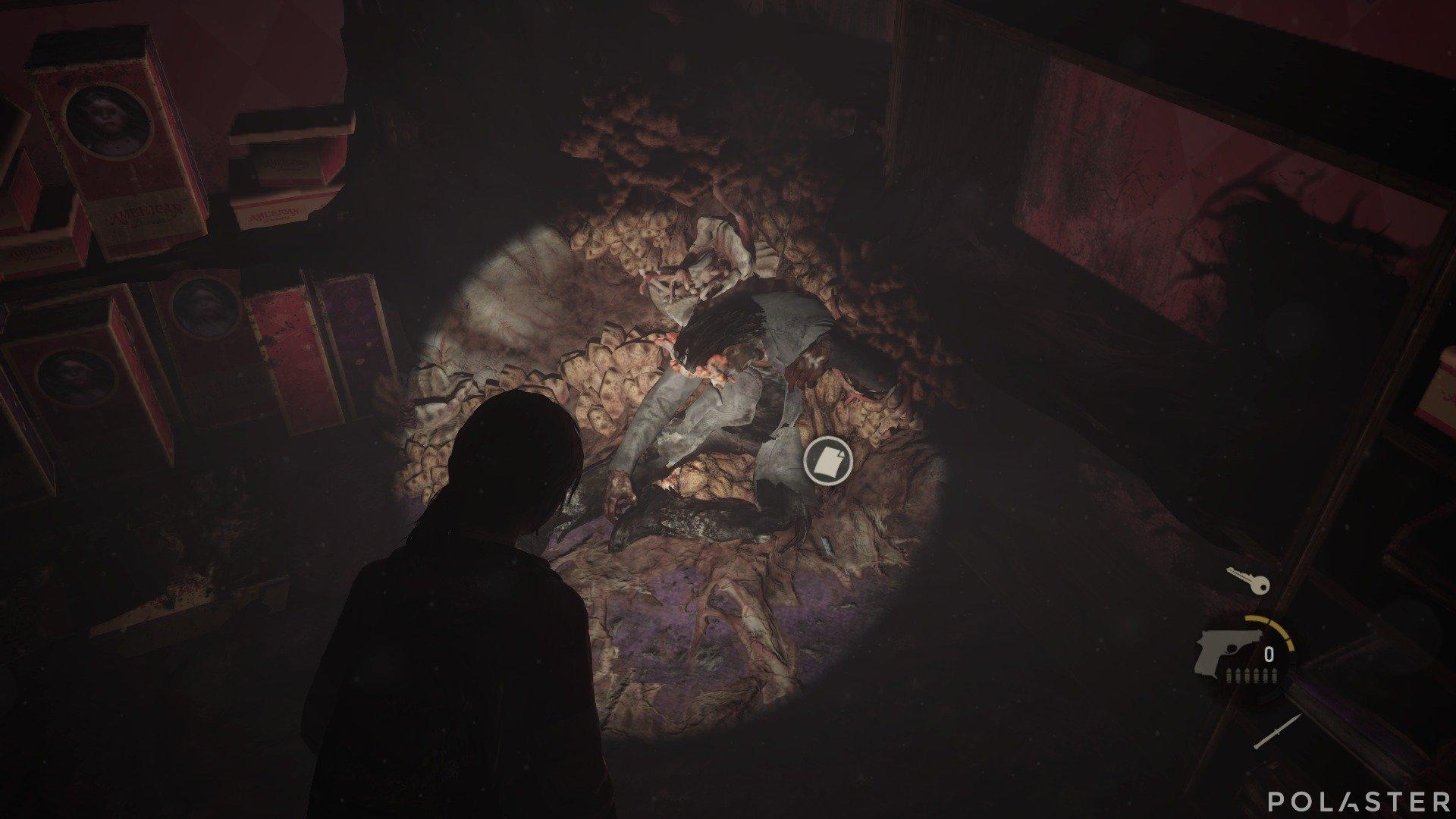 The Last of Us DLC Left Behind Artefacto Nota del farmacéutico