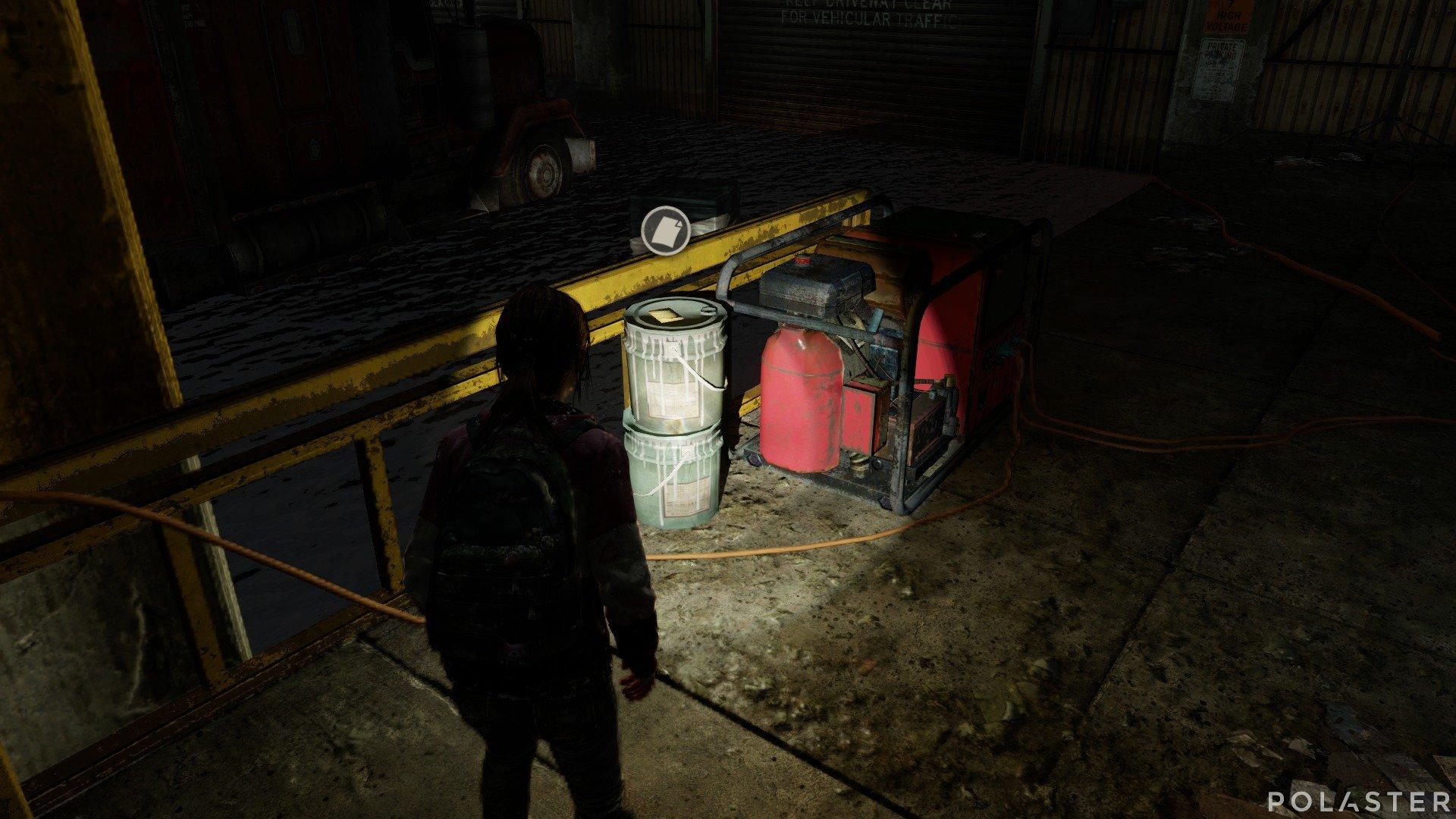 The Last of Us DLC Left Behind Artefacto Nota del generador