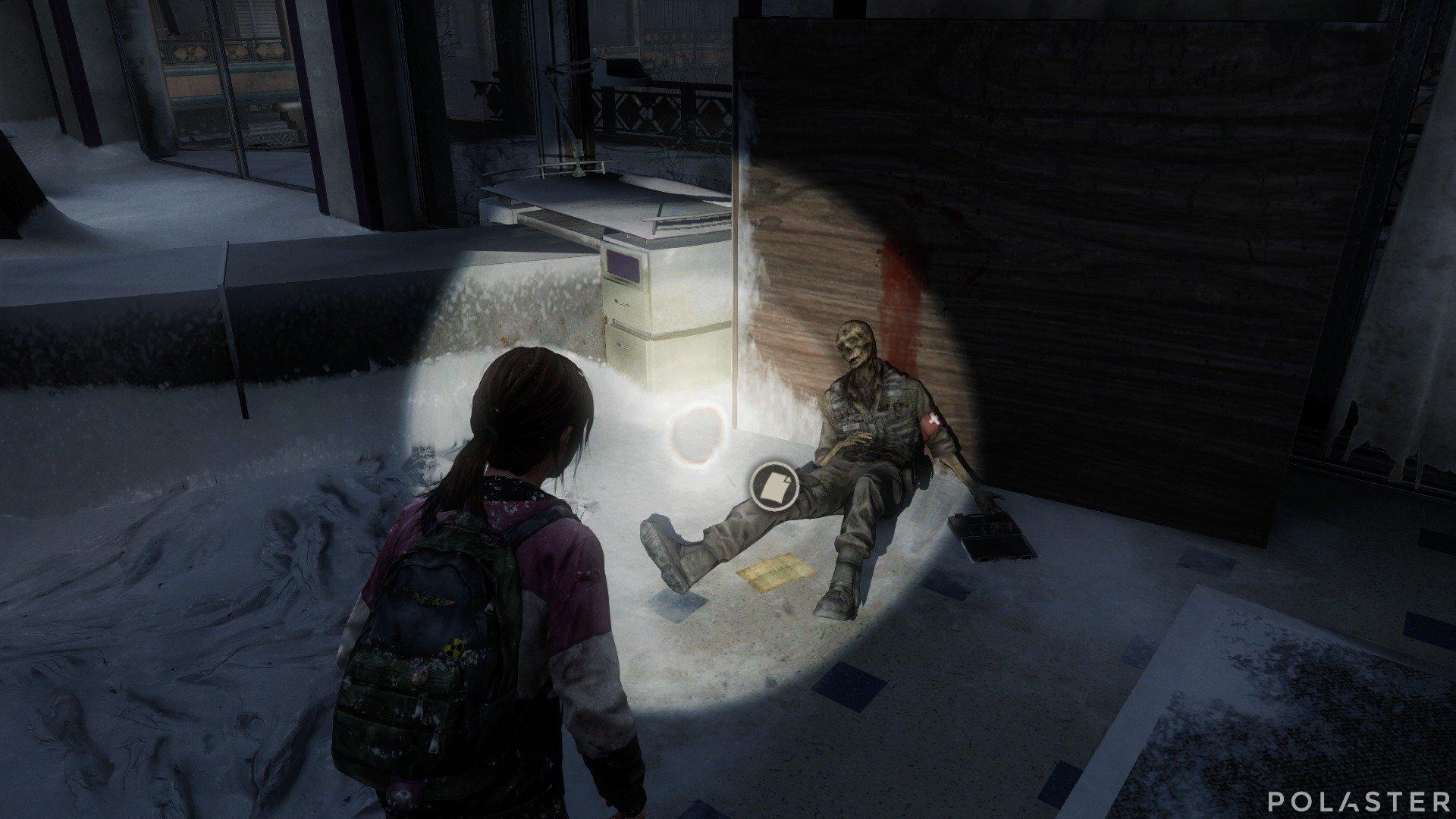 The Last of Us DLC Left Behind Artefacto Nota del salón
