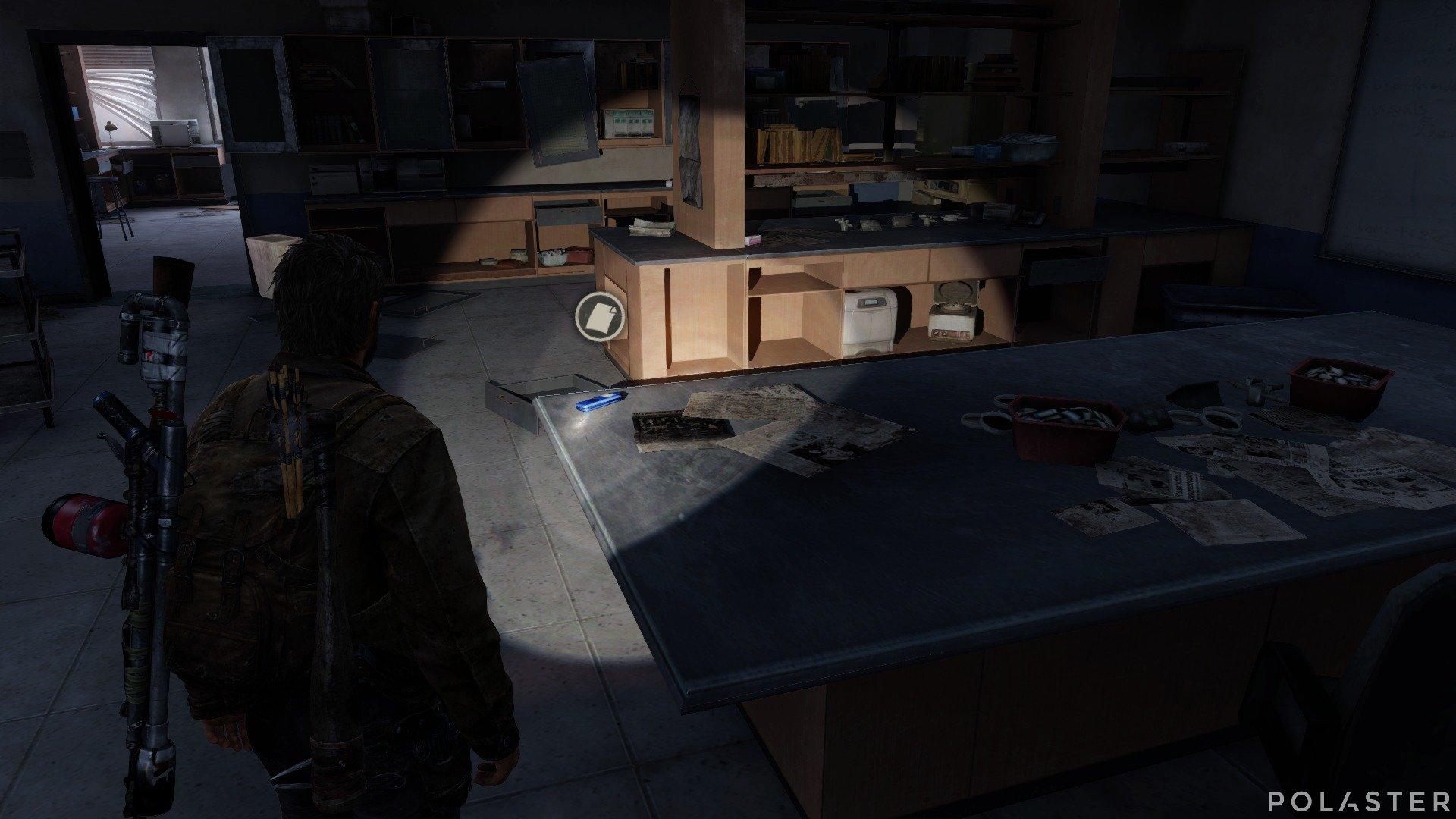 The Last of Us Artefacto Grabadora del laboratorio