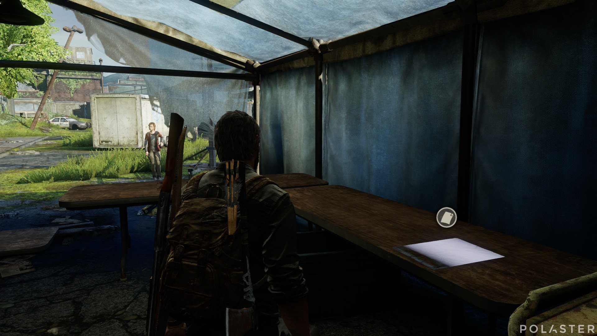 The Last of Us Artefacto Mapa Zona de cuarentena de Salt Lake