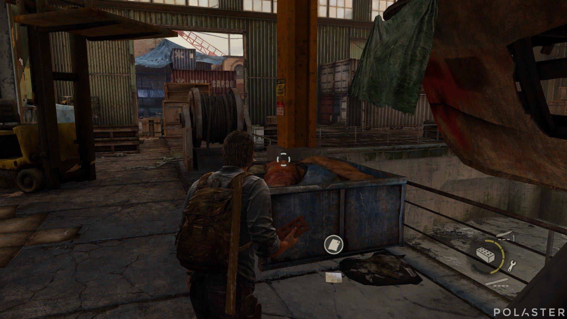 The Last of Us Artefacto Nota de los muelles