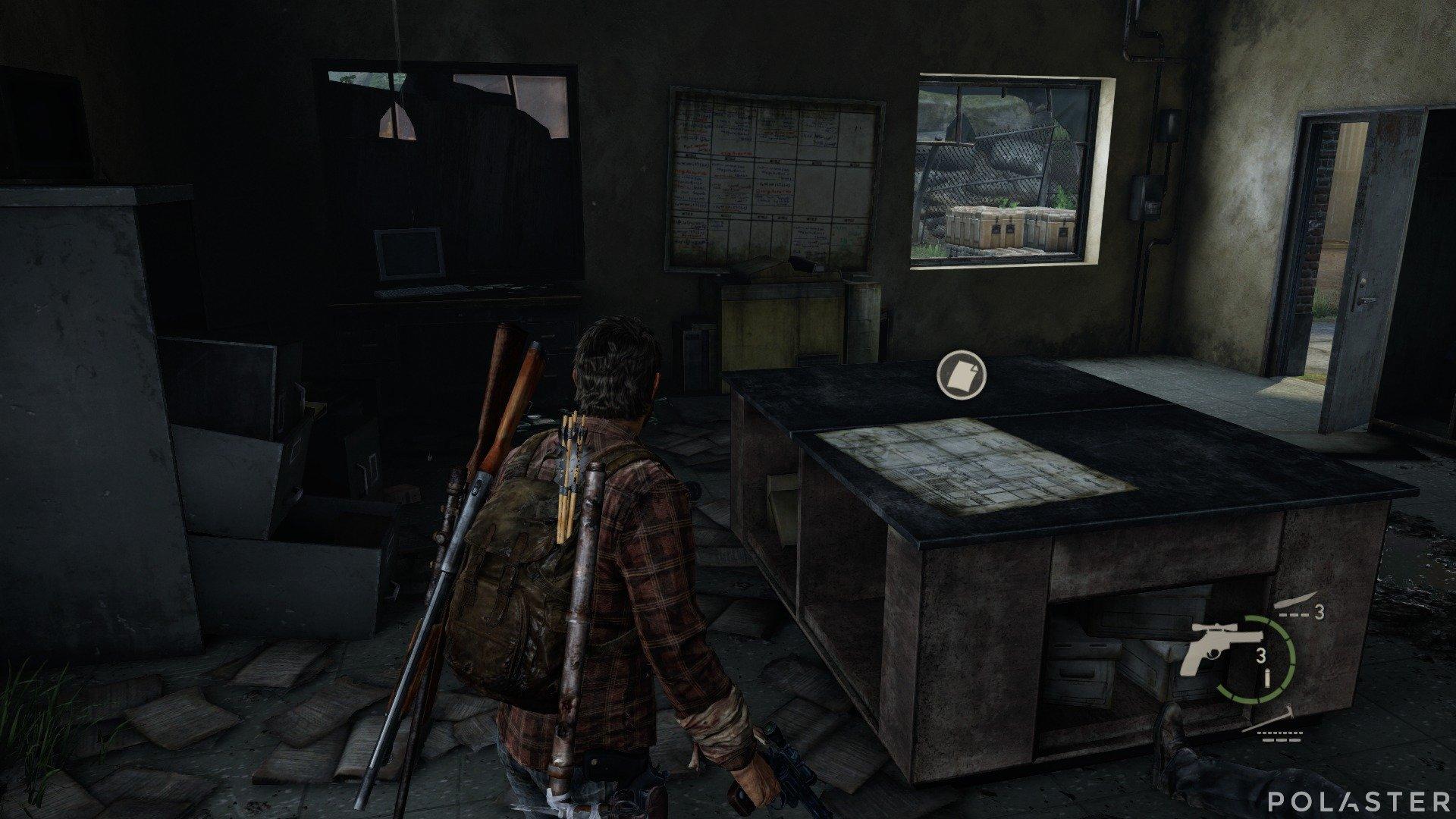 The Last of Us Artefacto Plano de la planta
