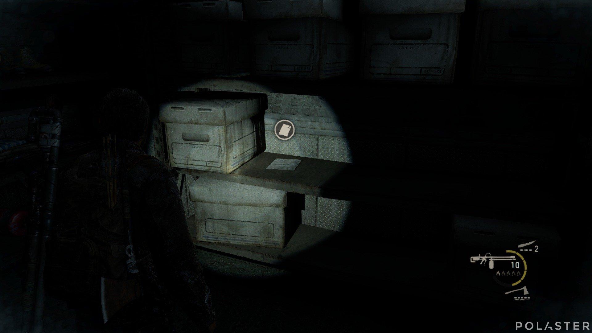 The Last of Us Artefacto Registro de carne