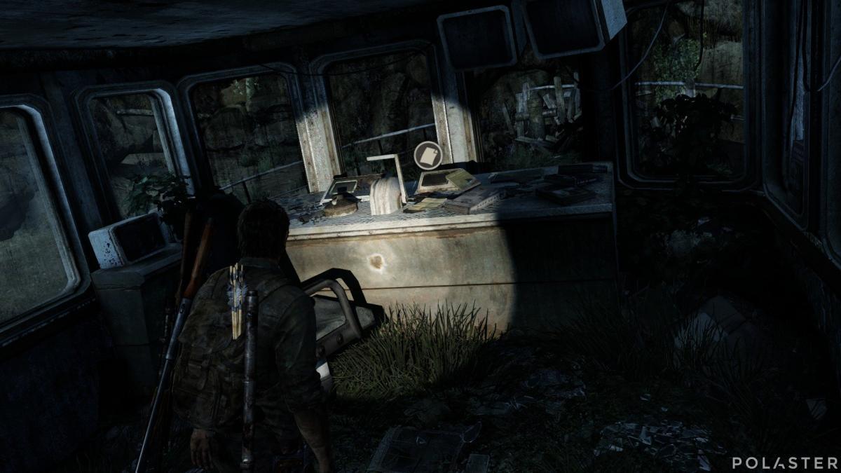 The Last of Us Artefacto Nota del barco