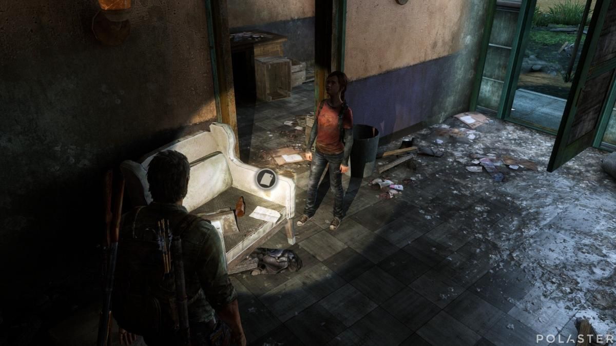 The Last of Us Artefacto Carta de madre