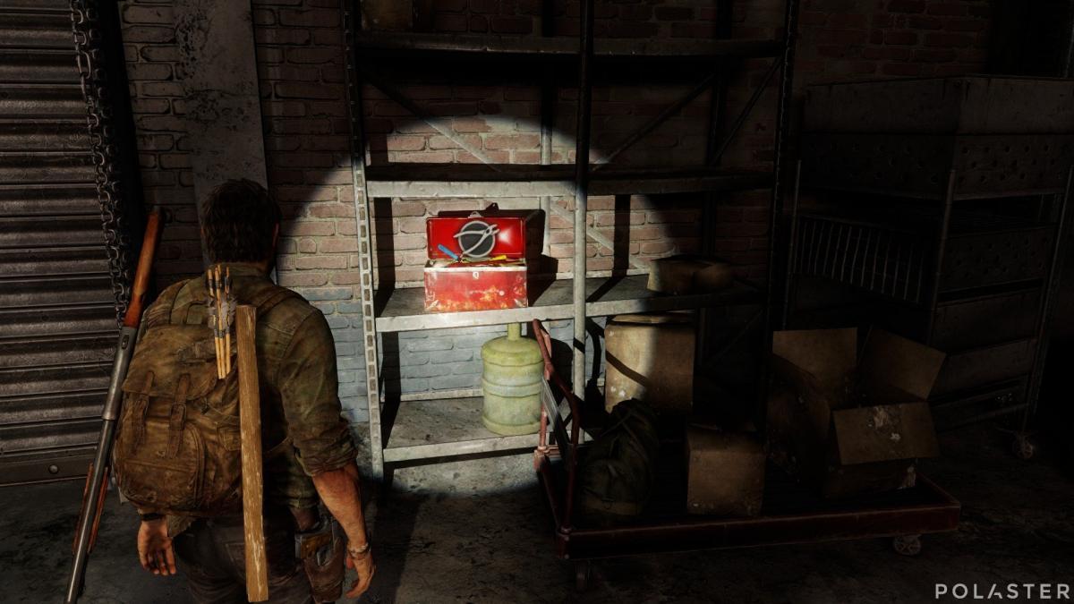 The Last of Us Herramientas de nivel 2