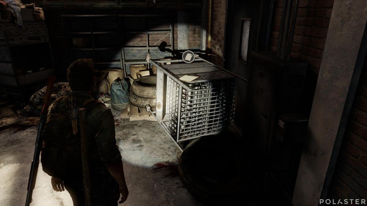 The Last of Us Artefacto Lista de los turistas