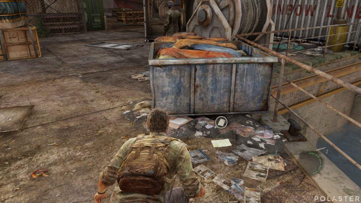 The Last of Us Lista del cargamento