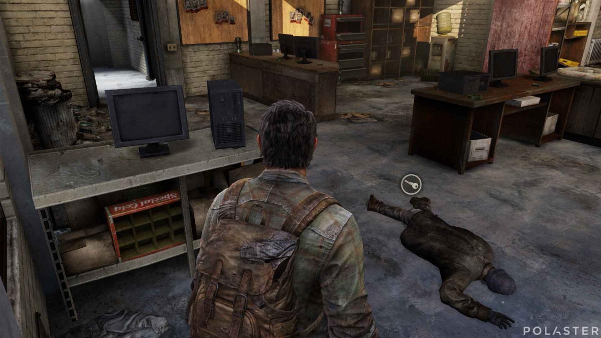 The Last of Us Llave del almacén