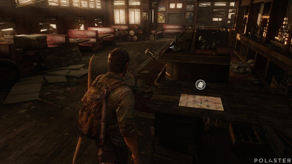 The Last of Us Artefacto Mapa de Bill