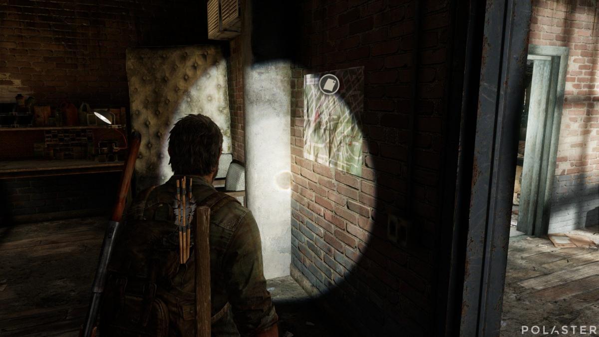 The Last of Us Artefacto Mapa de emboscadas