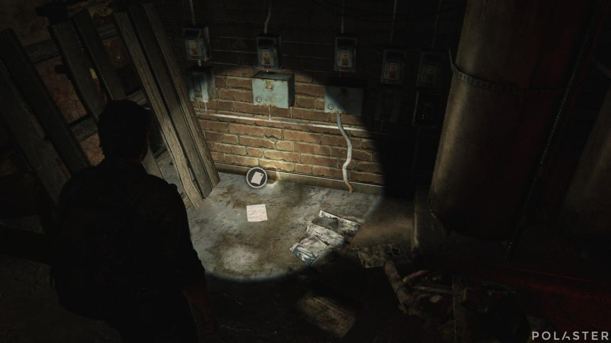 The Last of Us Artefacto Mapa de rutas de patrulla