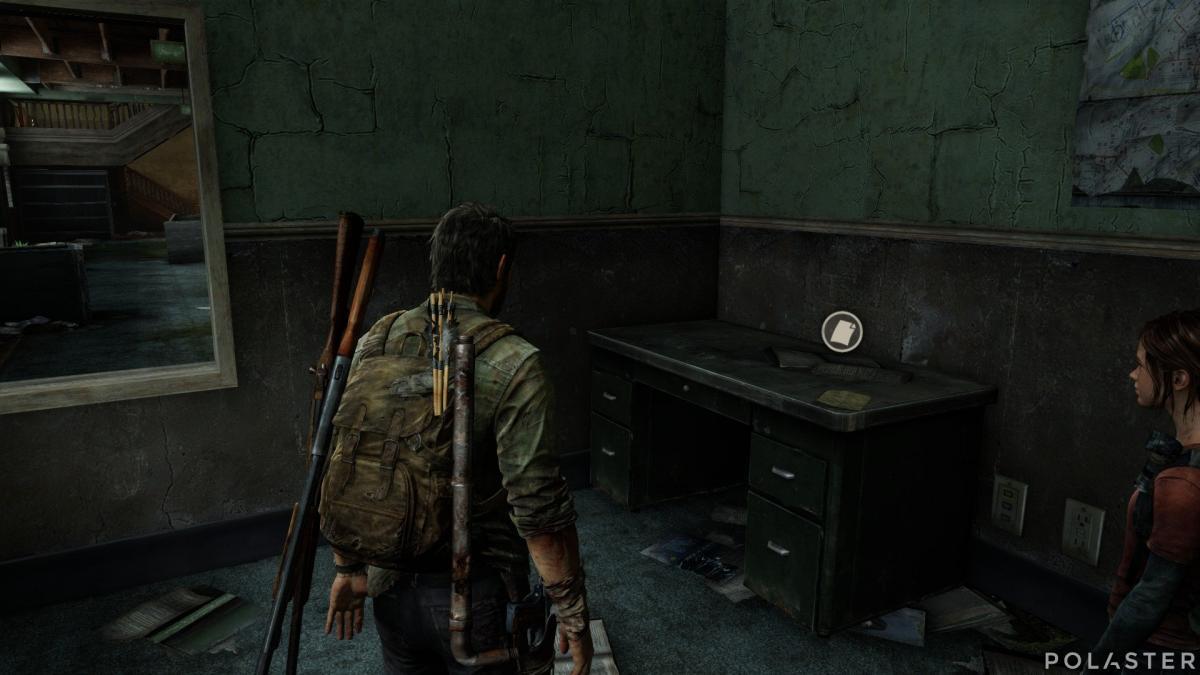 The Last of Us Artefacto Nota de abandonar la zona