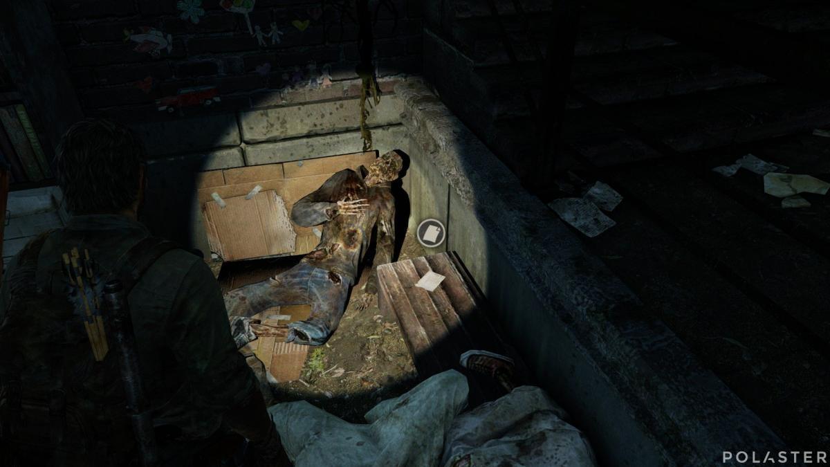 The Last of Us Artefacto Nota de acorralado