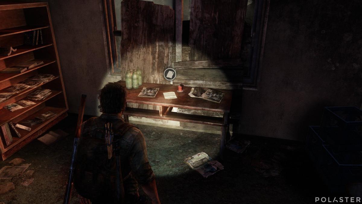 The Last of Us Artefacto Nota de Frank