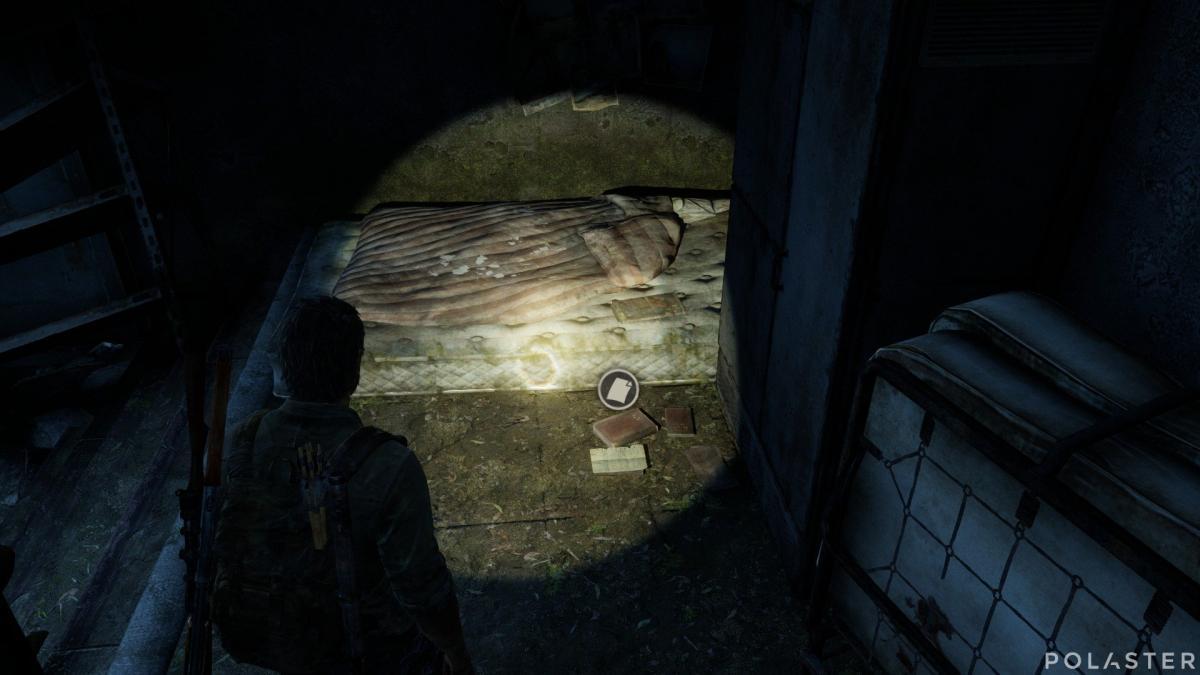 The Last of Us Artefacto Nota de intercambio
