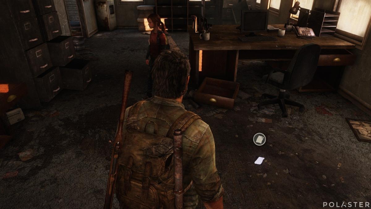 The Last of Us Artefacto Nota de las pastillas
