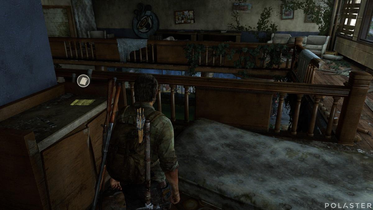 The Last of Us Artefacto Nota de las provisiones