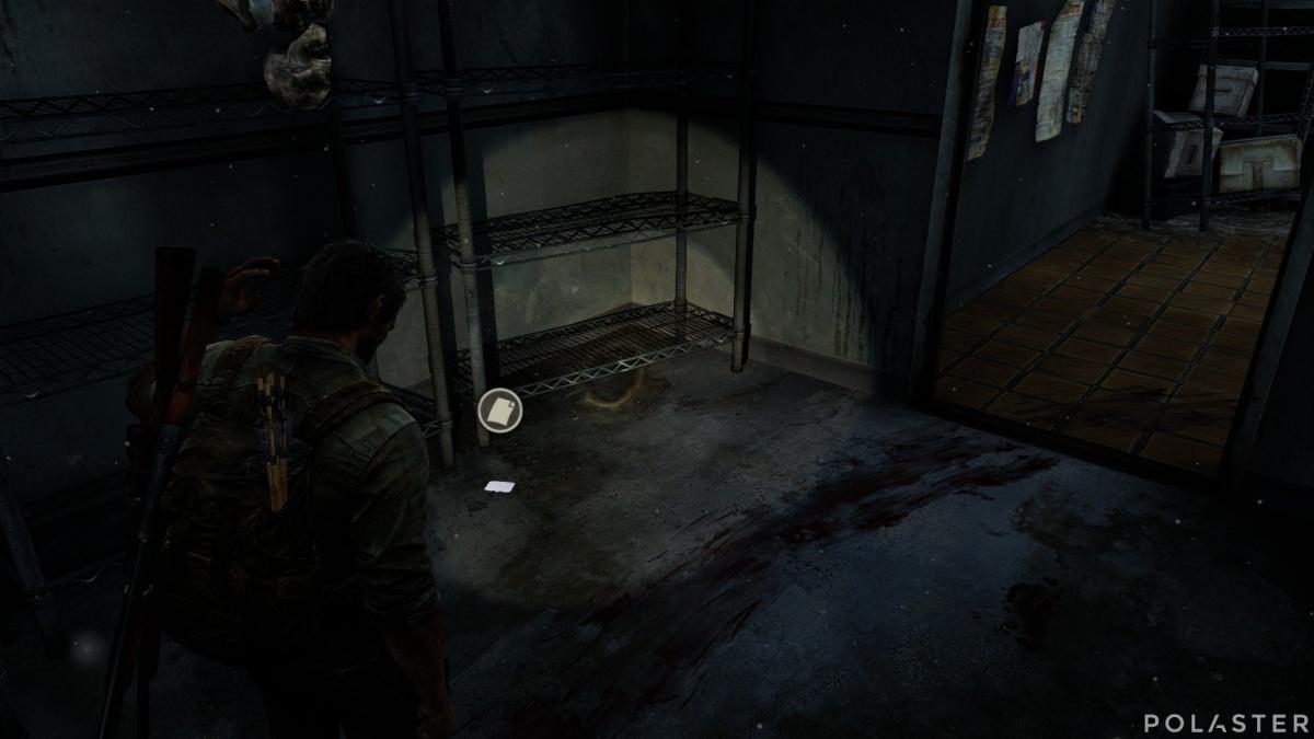The Last of Us Artefacto Nota de los Luciérnagas