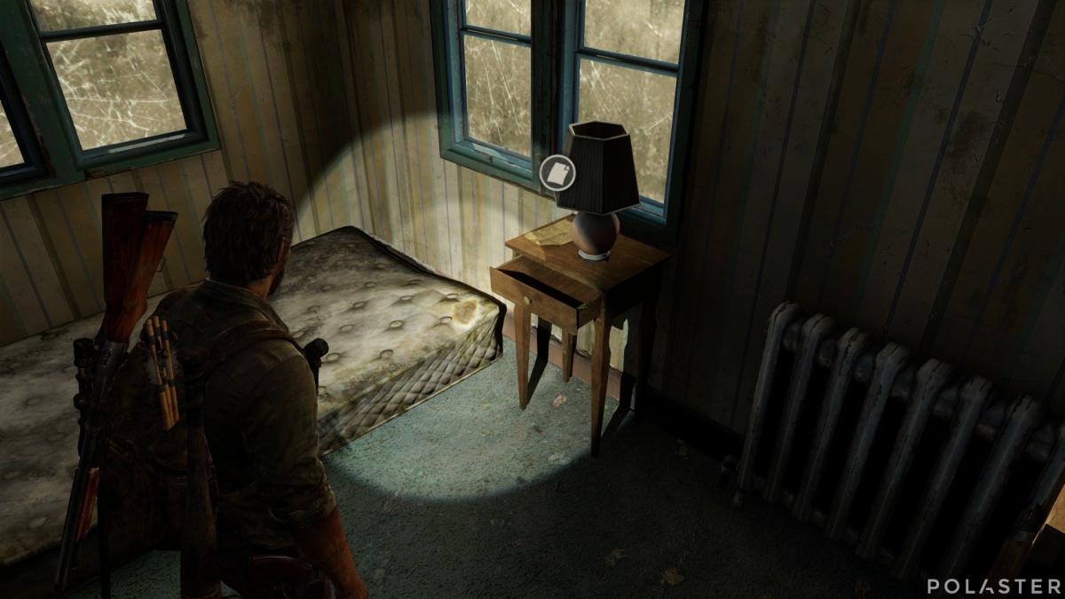 The Last of Us Artefacto Nota de saqueo