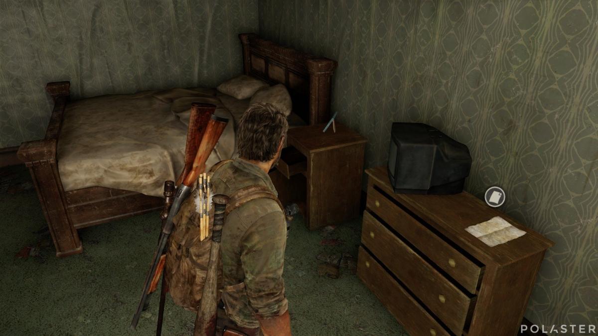 The Last of Us Artefacto Nota del padre