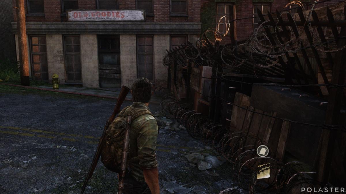 The Last of Us Artefacto Nota para Bob