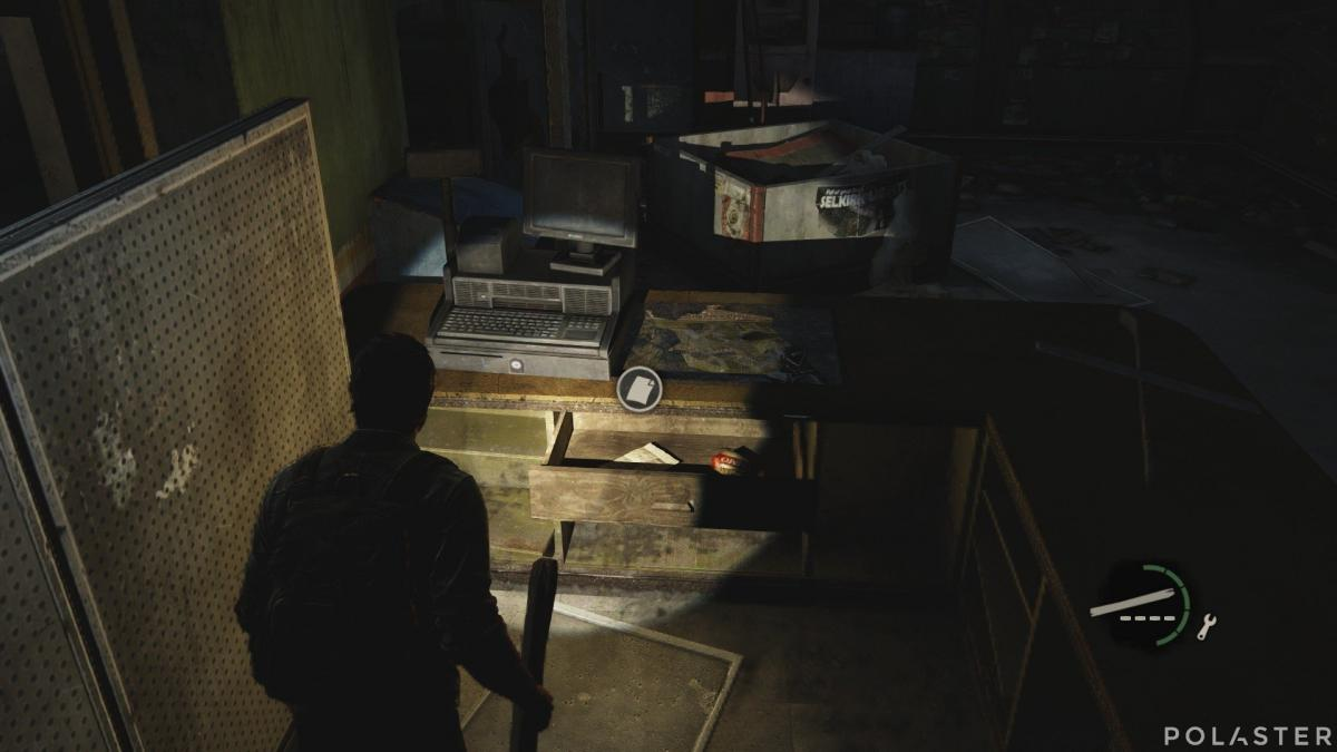 The Last of Us Artefacto Nota para Derek