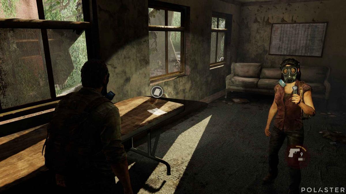 The Last of Us Artefacto Nota para hermano